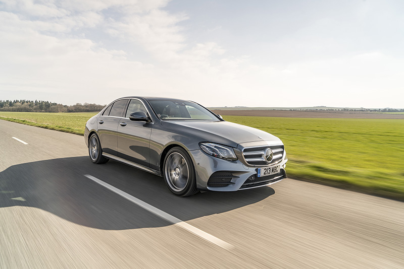 Mercedes E Class Three