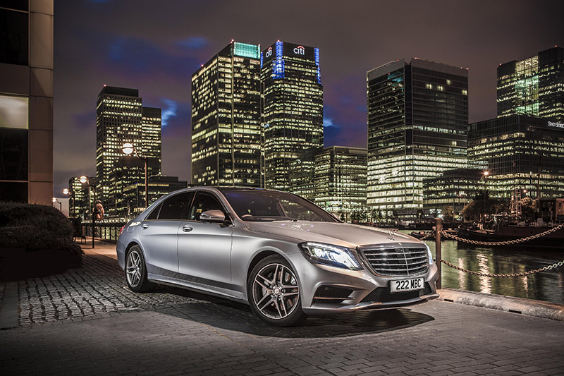 Mercedes S Class Image Three